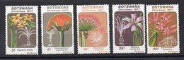 BOTSWANA - FLEURS - FLOWERS - CHRISTMAS 1977 - NOEL 1977 - 1977 - - Botswana (1966-...)
