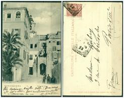 CARTOLINA - IMPERIA - CV1506 BORDIGHERA (Imperia IM) Porta Del Capo, FP, Viaggiata 1909 Per La Francia, Ottime Condizion - Imperia