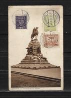 1929 Polonia Tarjeta Postal Circulada De Poznan A Colombia - Polonia