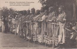 CPA Afrique Occidentale Française - ... Amazones (femmes-guerriers Redoutables) Collection Fortier Dakar - Sénégal
