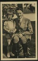 P0327 - DR Propaganda Photo Hoffmann Nr. 226 Postkarte Adolf Hitler Mit Mädchen: Ungebraucht. - Deutschland