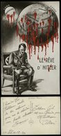 WW II Frankreich Antipropaganda Adolf Hitlers Traum,farbig: Die Ganze Welt Und Der Mond , Deutschland ,gebraucht 11.12 - Deutschland