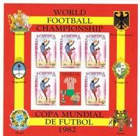 Turcas Y Caicos Nº 579 Al 582 En Hoja De 5 Series - 1982 – Espagne