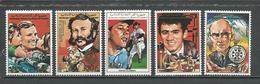 COMORES Scott 671-675 Yvert 477-479 PA265-PA266 (8) ** Cote 18,50 $ 1988 - Comores (1975-...)