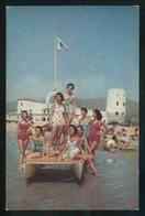 Barcelona. *Gimnasio-Solarium García Alsina* Circulada 1961. - Postales