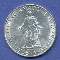 Österreich 25-Schilling Silber-Gedenkmünze 1956, Wolfgang Amadeus Mozart - Oesterreich