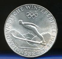 Österreich 50-Schilling Silber-Gedenkmünze 1964, Olympische Spiele Innsbruck - Oesterreich