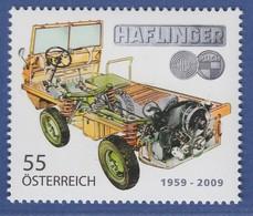 Österreich 2009 Sondermarke Geländewagen Haflinger  Mi.-Nr. 2798 - 2001-10. Ongebruikt