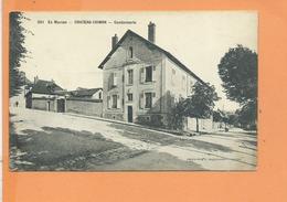 CPA - CHATEAU CHINON - Gendarmerie - Chateau Chinon