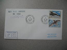 TAAF Lettre  Martin De Vivies-St-Paul Et Amsterdam  Pour La France N° 56//N° 57 Du 8/12/1977- M/S Marie Christine BU5360 - French Southern And Antarctic Territories (TAAF)