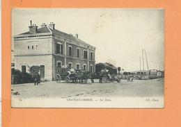 CPA - CHATEAU CHINON - La Gare - Chateau Chinon