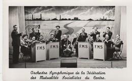 Orchestre Symphonique De La Fédération Des Mutualités Socialistes ; (Photo Rondia , Fayt-lez-Manage(La Louvière) Violon - Manage