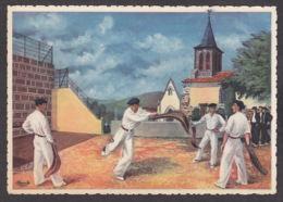 93906/ Illustrateur HOMUALK, *Pays Basque, Joueur De Pelote à La Chistera* - Homualk