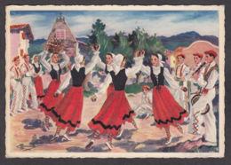 93907/ Illustrateur HOMUALK, *Pays Basque, Sagar-Dantza, Danse Des Pommes* - Homualk