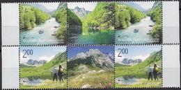 BOSNIA HERT. REP. SARPSKA 2012 / Europa /  2 STRIPS WITH LABELS - Europa-CEPT
