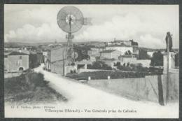 34 - Hérault - Villeveyrac Vue Générale Prise Du Calvaire TBE - France