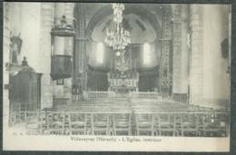 34 - Hérault - Villeveyrac Intérieur De L' église TBE - France