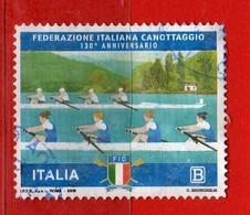 Italia °- 2018 -  FEDERAZIONE ITALIANA CANOTTAGGIO. Vedi Descrizione. - 6. 1946-.. Repubblica