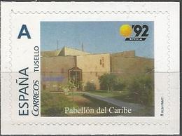 ESPAÑA. TUSELLO. EXPO'92 SEVILLA. PABELLON DEL CARIBE - 1931-Hoy: 2ª República - ... Juan Carlos I