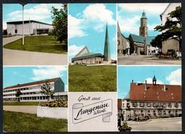 C1421 - TOP Langenau Gruß Aus - Franckh - Tübingen
