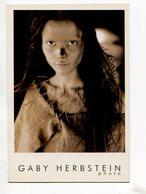 """TRIBU HUARPES"" GABY HERBSTEIN PHOTO CALENDARIO OCTUBRE POSTAL PUBLICIDAD ARGENTINA -LILHU - Amerika"