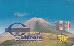 CAPE VERDE - Volcano, Used - Vulkane