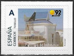 ESPAÑA. TUSELLO. EXPO'92 SEVILLA. PABELLON DE INDONESIA - 1931-Hoy: 2ª República - ... Juan Carlos I