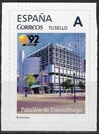 ESPAÑA. TUSELLO. EXPO'92 SEVILLA. PABELLON DE LUXEMBURGO - 1931-Hoy: 2ª República - ... Juan Carlos I