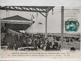 Reims. Grande Semaine D'Aviation De La Champagne. Hubert Latham - Reims
