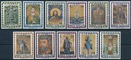 646-656 Serie Einwandfrei Postfrisch/** - Vatican