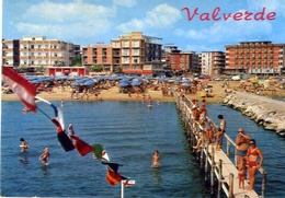 Valberde - Di Cesenatico - Spiaggia E Alberghi - Formato Grande Viaggiata Mancante Di Affrancatura – E 10 - Non Classificati