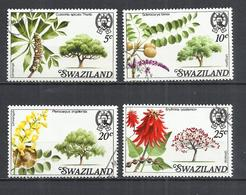 SWAZILAND 1978 - TREES - CPL. SET - USED OBLITERE GESTEMPELT USADO - Swaziland (1968-...)