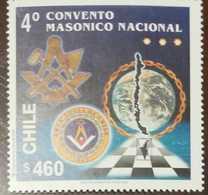 O) 2000 CHILE, MASONIC-FREEMASONRY, 4TH NATIONAL CONVENTION, MNH - Chile