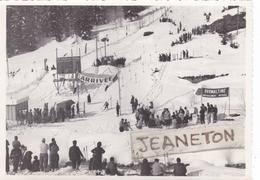 Photo : 17,5 Cm. X 12,5 Cm.  -  ARGENTIERE   Ou CHAMONIX ?  1937 - Sonstige Gemeinden
