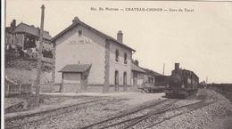 CHATEAU CHINON -  La Gare Du Tacot - Chateau Chinon