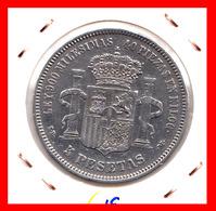 ESPAÑA MONEDA DE (( AMADEO I REY DE ESPAÑA MONEDA DE PLATA )) 5 PESETAS ( EL DURO ) AÑO 1871 * 71 - [ 1] …-1931 : Reino