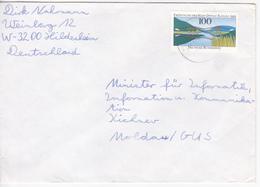 1992 , Germany  To Moldova , Bridge , Used Cover - [7] Federal Republic