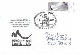 JEUX OLYMPIQUES D'HIVER GARMISH PARTENKIRCHEN- OLYMPICS WINTER GAMES 1936 - 75  ANNIVERSAIRE ANNIVERSARY - Hiver 1936: Garmisch-Partenkirchen