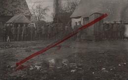 (Oise) Noyon - 60 - Militaria : Carte Photo Allemande (animée) - Noyon