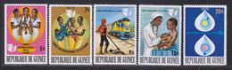 GUINEE N°  555 à 559 ** MNH Neufs Sans Charnière, TB (D8157) Année Internationale De La Femme - 1976 - Guinea (1958-...)