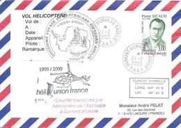 TAAF - Dumont D'Urville-T.Adélie: Lettre Avec Timbre N°238 Sicaud - 24/02/2000 - Covers & Documents