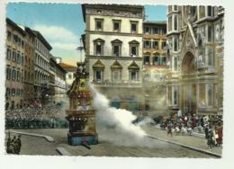 FIRENZE - FESTA DELLO SCOPPIO DEL CARRO  VIAGGIATA FG - Firenze