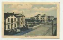PESARO - VILLINI AL MARE    - VIAGGIATA FP - Pesaro