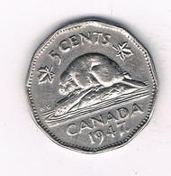 5 CENTS 1947 CANADA /0183/ - Canada