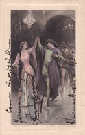 GIUSEPPE ANSELMI, OPERA SINGER. AUTOGRAPHE SUR POSTAL CIRCULEE 1912 ORIGINAL-TBE - BLEUP - Autogramme & Autographen