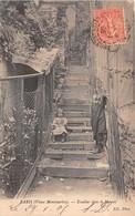 PARIS  18 éme   -Escalier Dans Le Maquis  ( Vieux Montmartre à - Arrondissement: 18