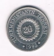 20 TENGA 1993 TURKMENISTAN /0189/ - Turkménistan