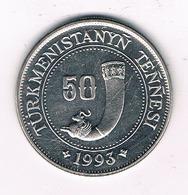 50 TENGA 1993 TURKMENISTAN /0190/ - Turkménistan