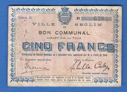 Seclin  59/2313  5  Fr - Bons & Nécessité