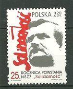 POLAND MNH **  3952 Syndicat SOLIDARNOSC Lech Walesa Prix Nobel De La Paix - 1944-.... République
